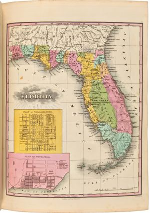 A NEW GENERAL ATLAS, COMPRISING A COMPLETE SET OF MAPS, REPRESENTING THE GRAND DIVISIONS OF THE GLOBE, TOGETHER WITH THE SEVERAL EMPIRES, KINGDOMS AND STATES IN THE WORLD; COMPILED BY THE BEST AUTHORITIES, AND CORRECTED BY THE MOST RECENT DISCOVERIES.
