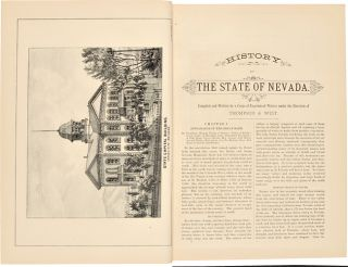 HISTORY OF NEVADA. WITH ILLUSTRATIONS AND BIOGRAPHICAL SKETCHES OF ITS PROMINENT MEN AND PIONEERS.