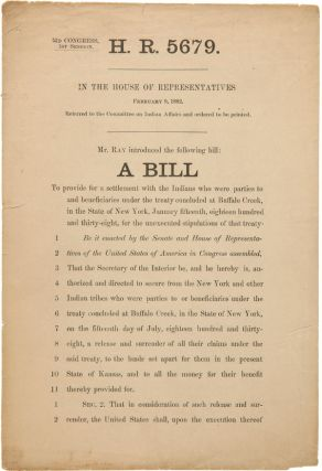 H.R. 5679...A BILL TO PROVIDE FOR A SETTLEMENT WITH THE INDIANS WHO WERE PARTIES TO AND...