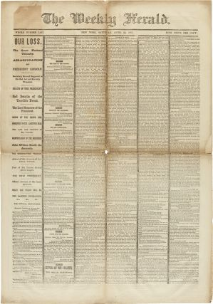 THE WEEKLY HERALD. Abraham Lincoln