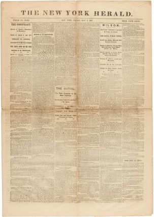 THE NEW YORK HERALD. Abraham Lincoln