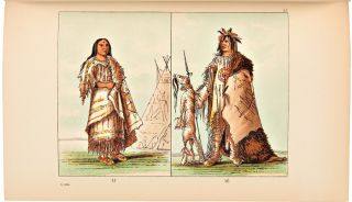 ILLUSTRATIONS OF THE MANNERS, CUSTOMS, & CONDITION OF THE NORTH AMERICAN INDIANS. WITH LETTERS AND NOTES....
