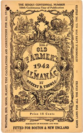 THE FARMER'S ALMANAC. Robert Bailey Thomas
