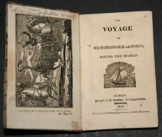 THE VOYAGE OF COMMODORE ANSON, ROUND THE WORLD.