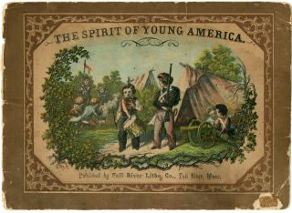 THE SPIRIT OF YOUNG AMERICA. A SERIES OF SEVEN PICTURES IN NINE COLORS, IN OIL. WITH DESCRIPTIVE...