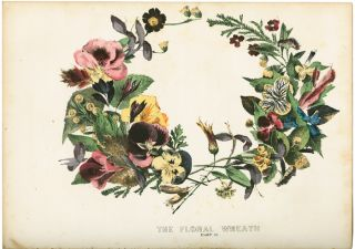LEAF AND FLOWER PICTURES, AND HOW TO MAKE THEM. Color Plate Book