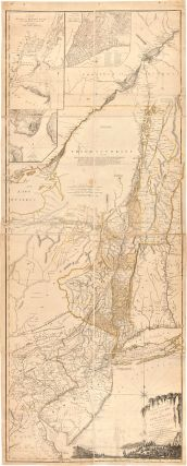 THE PROVINCES OF NEW YORK, AND NEW JERSEY; WITH PART OF PENSILVANIA [sic], AND THE PROVINCE OF...