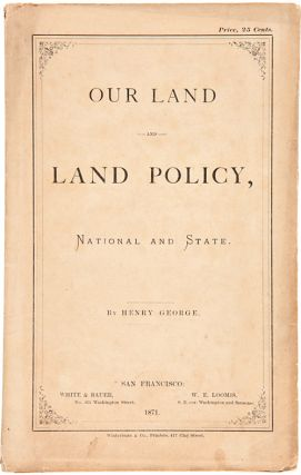 OUR LAND AND LAND POLICY, NATIONAL AND STATE [wrapper title