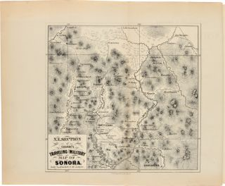 CINCINNATI & SONORA MINING ASSOCIATION. GEOLOGICAL REPORT AND MAP OF THE SAN JUAN DEL RIO RANCHE, IN SONORA, MEXICO. ALSO REPORT OF SPECIAL COMMITTEE, STATISTICS OF SILVER MINING, TRANSCRIPT OF TITLE, &c.