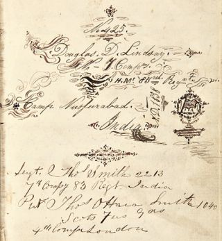 "REMINISCENCES OF AULD LANG SYNE [manuscript title, including a chapter of adapted California Fiction entitled ""WESTWARD HO""]."
