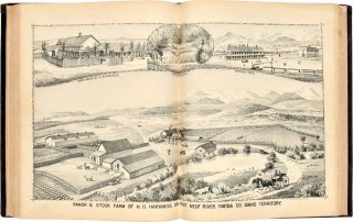 HISTORY OF IDAHO TERRITORY SHOWING ITS RESOURCES AND ADVANTAGES; WITH ILLUSTRATIONS DESCRIPTIVE OF ITS SCENERY, RESIDENCES, FARMS, MINES, MILLS, HOTELS, BUSINESS HOUSES, SCHOOLS, CHURCHES, &c.