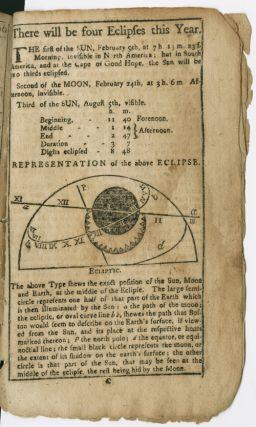 AN ASTRONOMICAL DIARY: OR, ALMANACK FOR THE YEAR OF OUR LORD CHRIST, 1766.