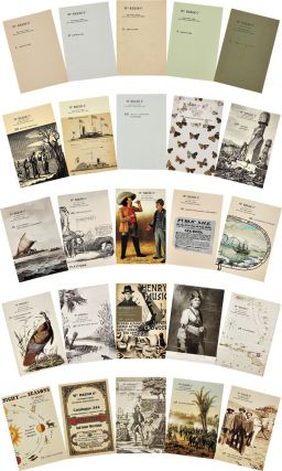 COMPLETE RUN OF RARE BOOK CATALOGUES OF THE WILLIAM REESE COMPANY, FROM CATALOGUE 1 TO 363