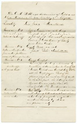 CONTEMPORARY COPY OF A MANUSCRIPT LETTER FROM GEORGE M. WILLING TO THE EDITOR OF THE UNITED...