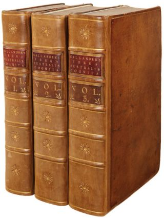 TERRA AUSTRALIS COGNITA: OR, VOYAGES TO THE TERRA AUSTRALIS, OR SOUTHERN HEMISPHERE, DURING THE...