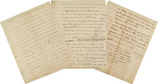 LENGTHY AUTOGRAPH LETTER, SIGNED, FROM VICE PRESIDENT ELBRIDGE GERRY, DISCUSSING HIS ROLE AS...