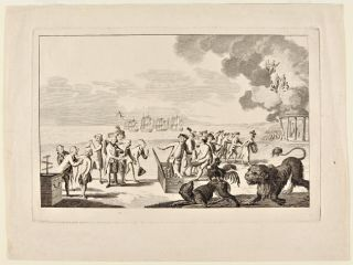 THE WORTHY DUTCHMAN - EERWARDIGEN NEDERLANDER]. American Revolution, Political Satire