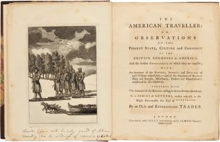 THE AMERICAN TRAVELLER: OR, OBSERVATIONS ON THE PRESENT STATE, CULTURE AND COMMERCE OF THE...