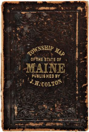 COLTON'S RAILROAD & TOWNSHIP MAP OF THE STATE OF MAINE, WITH PORTIONS OF NEW HAMPSHIRE, NEW BRUNSWICK, & CANADA.