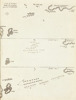 AN ESSAY ON NAVAL TACTICS, SYSTEMATICAL AND HISTORICAL. WITH EXPLANATORY PLATES. IN FOUR PARTS....
