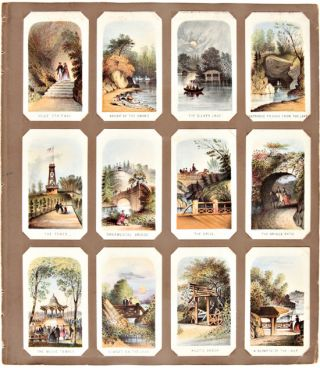 VIEWS IN CENTRAL PARK. (with:) NEW YORK STREET SCENES]. New York Views, Louis Prang