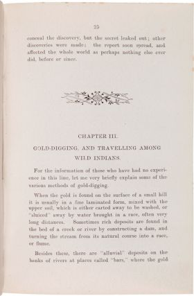 """A TRIP TO CALIFORNIA IN 1850-3, WITH CHAPTERS ON SOUTH- SEA ISLANDS, """"PORT PHILLIP,"""" AND BEAUTIFUL TASMANIA."""
