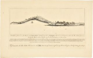 A N.b.E. VIEW OF THE FORT ON THE WESTERN END OF SULIVANS ISLAND WITH THE DISPOSITION OF HIS...