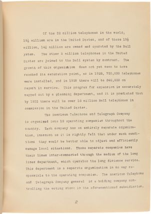 YALE SENIOR INSPECTION TRIP FOR MECHANICAL AND INDUSTRIAL ENGINEERS. March 27 - April 3, 1929 [typescript title].