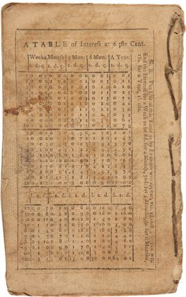 """""""Adventures of Col. Daniel Boon [sic], One of the Original Settlers at Kentucky; Containing the Wars with the Indians on the Ohio, from 1769, to the Year 1784...."""" [Contained in:] BEERS'S ALMANAC AND EPHEMERIS...FOR...1795."""