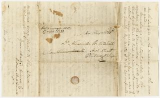 [AUTOGRAPH LETTER, SIGNED, FROM WILLIAM A. McDOWELL TO ALEXANDER W. MITCHELL, REGARDING PRESBYTERIAN MISSIONS IN THE SOUTHERN STATES].