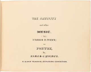 THE NATIVITY AND OTHER MUSIC [manuscript title].