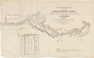 TOPOGRAPHICAL MAP OF THE ROAD FROM MISSOURI TO OREGON COMMENCING AT THE MOUTH OF THE KANSAS IN...