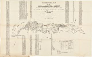 TOPOGRAPHICAL MAP OF THE ROAD FROM MISSOURI TO OREGON COMMENCING AT THE MOUTH OF THE KANSAS IN THE MISSOURI RIVER, ENDING AT THE MOUTH OF THE WALLAH WALLAH IN THE COLUMBIA. IN VII SECTIONS.