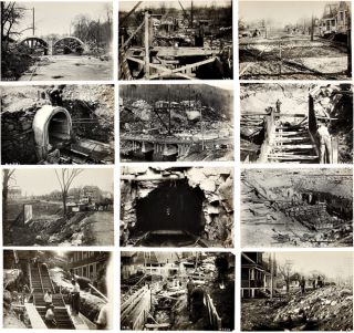 MASSIVE ARCHIVE OF OVER 1,550 ORIGINAL PHOTOGRAPHS RELATING TO CONSTRUCTION PROJECTS, MAINLY IN...