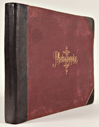 [ALBUM OF FORTY-FOUR LARGE FORMAT ALBUMEN PHOTOGRAPHS OF BERMUDA].