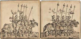 [TWENTY-SIX WOODCUT PANELS FROM THE TRIUMPHAL PROCESSION OF HOLY ROMAN EMPEROR MAXIMILIAN I].