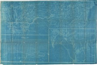 SOUTHERN CALIFORNIA. MAP OF THE HARBOR OF SAN DIEGO AND VICINITY, SHOWING THE TERMINUS OF THE...