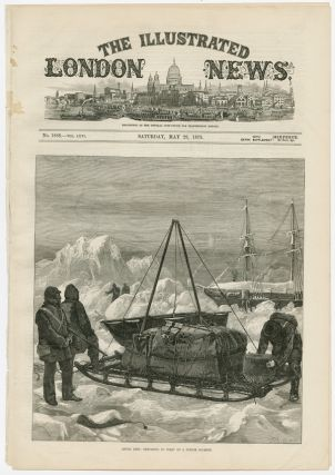 [COLLECTION OF ORIGINAL LEAVES OF The Illustrated London News REGARDING CANADA, ALASKA, AND GREENLAND, 1843 - 1877].