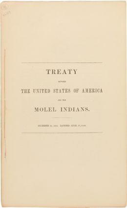 TREATY BETWEEN THE UNITED STATES OF AMERICA AND THE MOLEL INDIANS. Indian Treaties- Molala Tribe