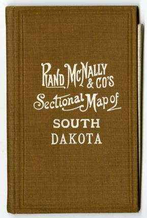 RAND McNALLY & CO.'S SECTIONAL MAP OF SOUTH DAKOTA [cover title]. South Dakota