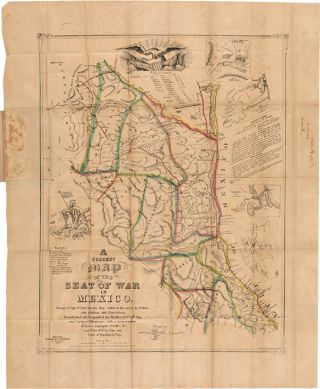 A CORRECT MAP OF THE SEAT OF WAR IN MEXICO. BEING A COPY OF GEN'L ARISTA'S MAP, TAKEN AT RESACA...