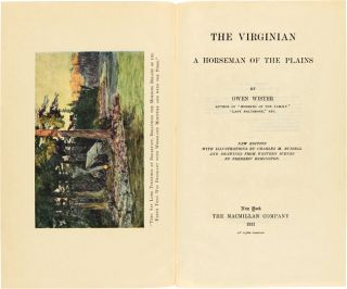 THE VIRGINIAN. A HORSEMAN OF THE PLAINS.