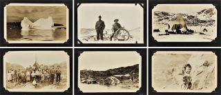 ALBUM OF ORIGINAL PHOTOGRAPHS FROM THREE ARCTIC EXPEDITIONS COMMANDED BY DONALD BAXTER...