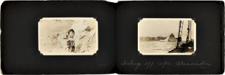 [ALBUM OF ORIGINAL PHOTOGRAPHS FROM THREE ARCTIC EXPEDITIONS COMMANDED BY DONALD BAXTER MacMILLAN].