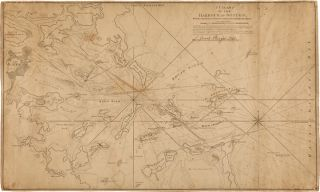 A CHART OF THE HARBOUR OF BOSTON, WITH THE SOUNDINGS, SAILING-MARKS, AND OTHER DIRECTIONS...