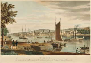 TROY. TAKEN FROM THE WEST BANK OF THE HUDSON, IN FRONT OF THE UNITED STATES ARSENAL. William...
