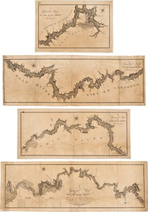 A GENERAL MAP OF OHIO, FROM ITS SOURCE TO ITS MOUTH: CONTAINING THE NAMES OF THE TOWNS VILLAGES...