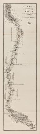 MAP OF THE COURSE OF THE MISSISSIPPI FROM THE MISSOURI AND THE COUNTRY OF THE ILLINOIS TO THE...