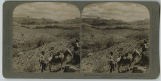 THE GRAND CAÑON OF ARIZONA THROUGH THE STEREOSCOPE. THE UNDERWOOD PATENT MAP SYSTEM COMBINED...