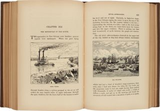 """LIFE ON THE MISSISSIPPI. By """"Mark Twain"""" [pseud]."""
